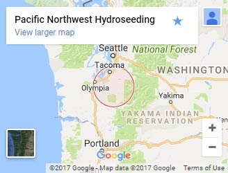 Pacific Northwest Hydroseeding on Google Maps